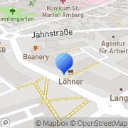 Karte ART Amberg, Deutschland