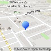 Karte Walder Amberg, Deutschland