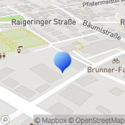 Karte Kath. Ehe- u. Familienberatung Amberg, Deutschland
