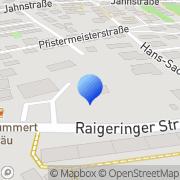 Karte Kummert Gastro GmbH Amberg, Deutschland