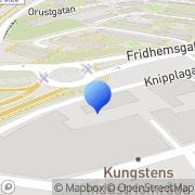 Karta Kungssten-Klippans Industrier Ek För Göteborg, Sverige