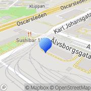 Karta Svenska Kommunalpensionärernas Förbund Göteborg, Sverige
