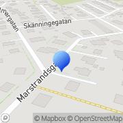 Karta Söderéns Signal och Teleteknik Göteborg, Sverige