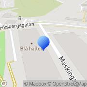 Karta Volvo Lastvagnar AB Göteborg, Sverige