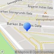 Karta Harty Organon AB Göteborg, Sverige