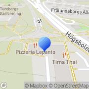 Karta Grand Fastighet i Falkenberg AB Göteborg, Sverige