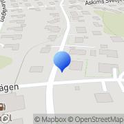 Karta Tom Puss Askim, Sverige
