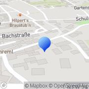 Karte Anton Münsterer Glaserei Pressath, Deutschland