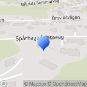 Karta Christof Livsmedel AB Billdal, Sverige