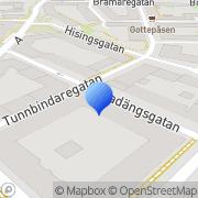 Karta Zs Spelcafé i Göteborg KB Göteborg, Sverige