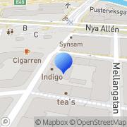 Karta Asturias Göteborg, Sverige