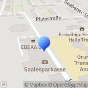 Karte Floristik 99 Halle, Deutschland