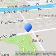 Karta Buttericks Göteborg, Sverige