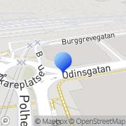 Karta GP Företagsmarknad Göteborg, Sverige
