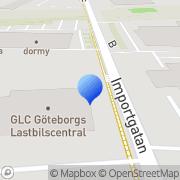 Karta Importgatan 24 AB Backa, Sverige