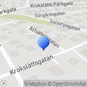Karta Notlinjen Musik Mölndal, Sverige