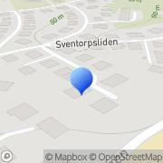 Karta DOKUMA förlag Göteborg, Sverige