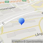 Karta Landvettergran Göteborg, Sverige