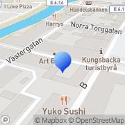 Karta Bjurfors Kungsbacka/Onsala Kungsbacka, Sverige