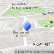 Kort Antistandard Roskilde, Danmark