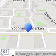 Kort KFUM-Spejderne i Danmark Roskilde, Danmark
