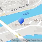 Karte Gasthof Baier Schwandorf, Deutschland