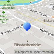 Karte VDK Sozialverband Schwandorf, Deutschland