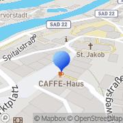 Karte Radio Charivari Schwandorf in Bayern, Deutschland