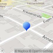 Karte Feistel Katrin Hausverwaltung Plauen, Deutschland