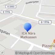 Karta ICA Nära Matkassen Lödöse, Sverige