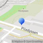 Kort Gram-Hanssen Service Roskilde, Danmark