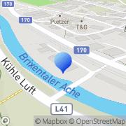 Karte Kommunalbetriebe Hopfgarten Hopfgarten im Brixental, Österreich