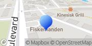 Kort Fiskemanden Køge, Danmark