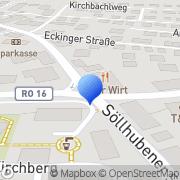 Karte Hartmann Bautenschutz Riedering, Deutschland