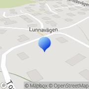Karta Vimeco Landvetter, Sverige