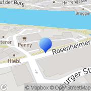 Karte Martin & Bartsch Wasserburg am Inn, Deutschland