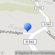 Karta J A Service Landvetter, Sverige