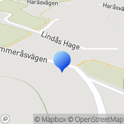 Karta Oryds Maskin Lerum, Sverige