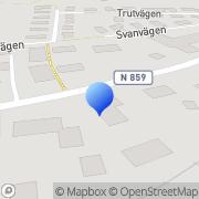 Karta El & Maskinservice AB Veddige, Sverige