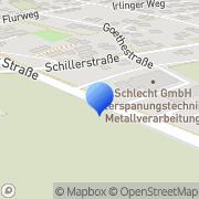 Karte Schlecht Pfatter, Deutschland