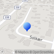 Kort Grundejerforeningen Soldalen Hornbæk, Danmark