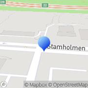 Kort Skandia Forsikring-Lifelinelinjen Hvidovre, Danmark