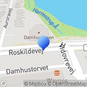 Kort Damhus Tivoli A/S Rødovre, Danmark