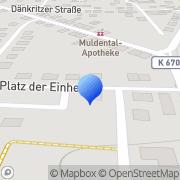 Karte Elektrotechnik Carol Forster Zwickau, Deutschland
