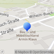 Karte Bau- & Möbeltischlerei Armin Klaus Inh. Milko Klaus Zwickau, Deutschland