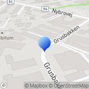 Kort Arkion Gruppen Gentofte, Danmark