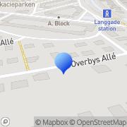 Kort NLPbasen Valby, Danmark