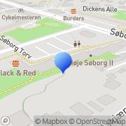 Kort Lions Club Gladsaxe Genbrugsbutik Søborg, Danmark