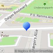 Kort Taxakeld Frederiksberg, Danmark