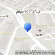 Kort Ejndomskontoret Gentofte, Danmark